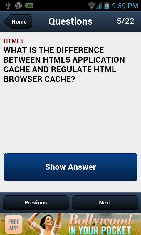 HTML5 Interview Questions- screenshot
