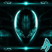 Theme eXPERIAnce Alien Teal