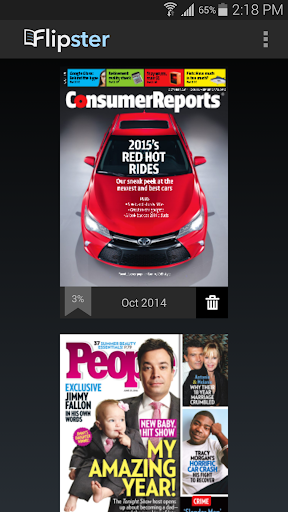 Flipster - Digital Magazines