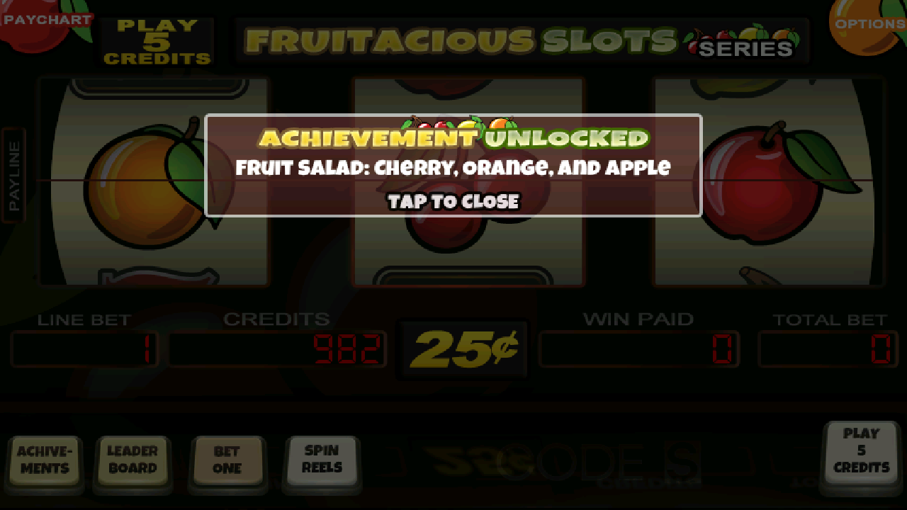 Fruit Slot Machine - screenshot
