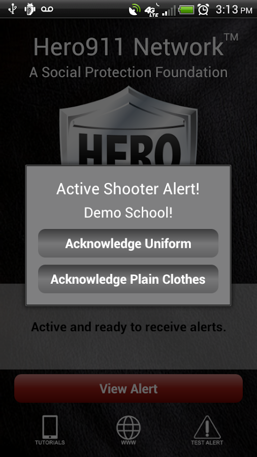 Hero911 - screenshot