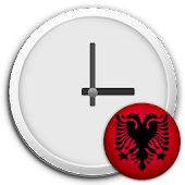 Albania Clock & RSS Widget