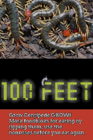 100Feet: angry centipod temple- screenshot