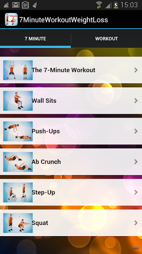 7 minutes workout App Free