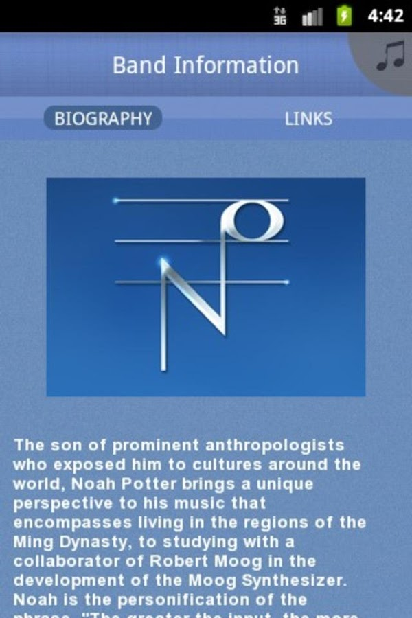 Noah Potter - screenshot