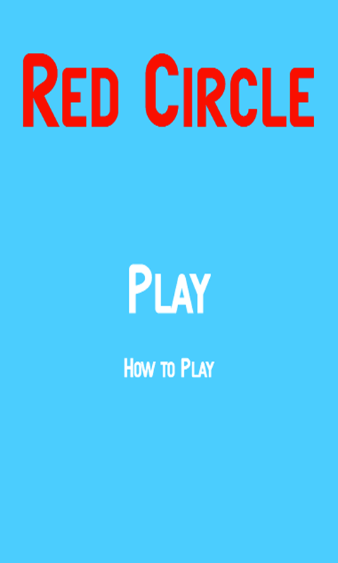 Red Circle - screenshot