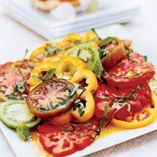 Sharon's Herbed Tomato Salad