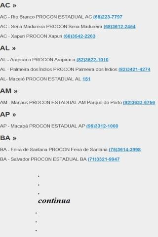 Código do Consumidor Brasil - screenshot