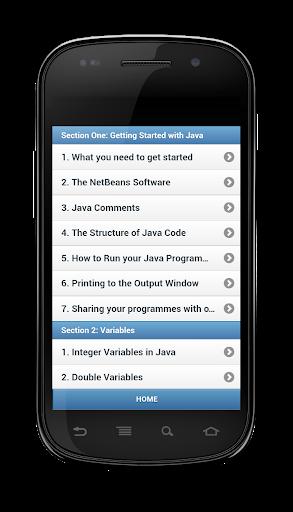 Learn Java - Free Offline