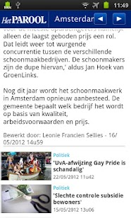 Het Parool Mobile - screenshot thumbnail