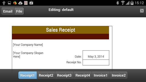 Sales Receipts Pro