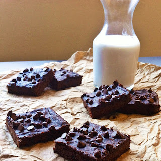 Intensely Chocolate Sweet Potato Brownies (grain, gluten, dairy-free)