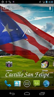 3D Puerto Rico Flag LWP - screenshot thumbnail