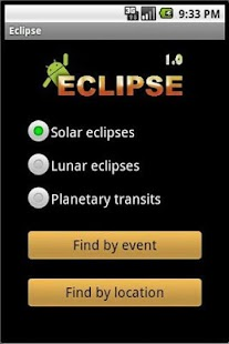 Eclipse Calculator Capture d'écran