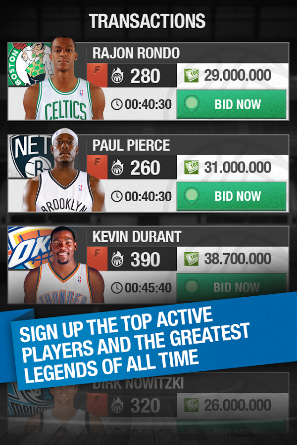 NBA General Manager 2014 - screenshot