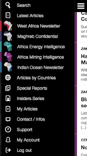 Africa Intelligence- screenshot thumbnail