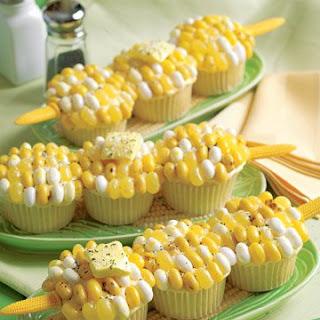 Corn-on-the-Cob Cupcake.