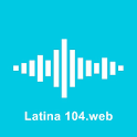 Latina 104.web icon