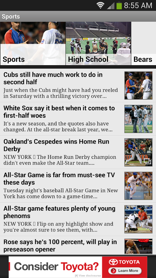 Daily Herald -Suburban Chicago - screenshot