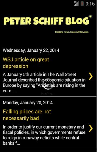 Peter Schiff News Blog