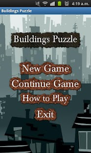 Buildings Puzzle - screenshot thumbnail