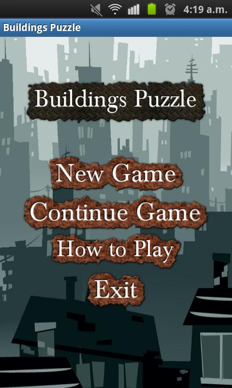 Buildings Puzzle- screenshot