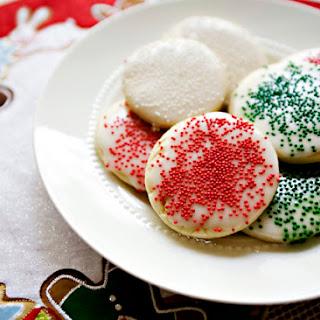 Sugar Cookie Glaze.
