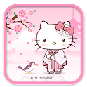 Hello Kitty Tender Sakura icon