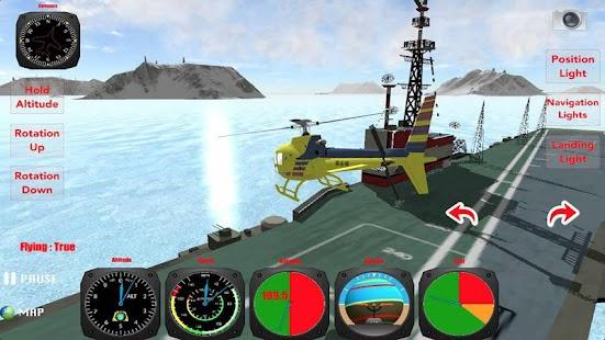 X Helicopter Flight 3D - screenshot