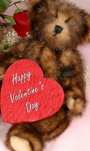 Valentines Day bear Live WP