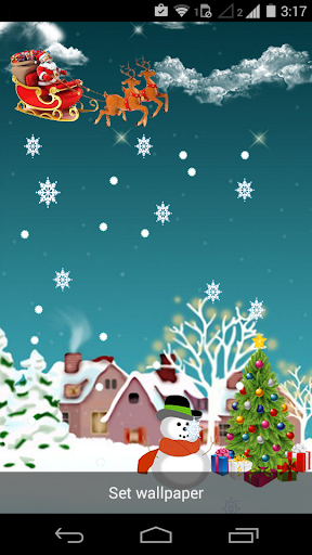 Happy Christmas LiveWallpaper