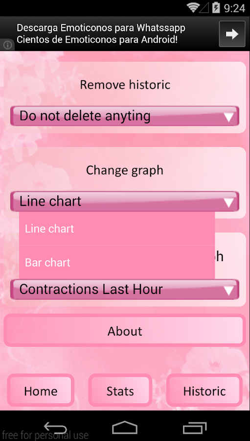 Contraction Calculator - Free Android app | AppBrain