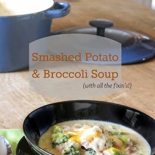 Smashed Potato & Broccoli Soup