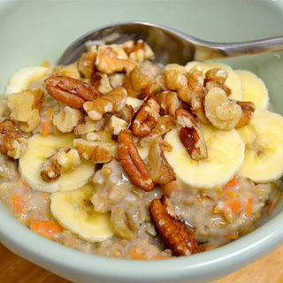 Vegan Morning Glory Oatmeal