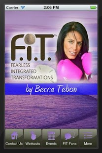 Becca Tebon F.I.T.ness- screenshot thumbnail