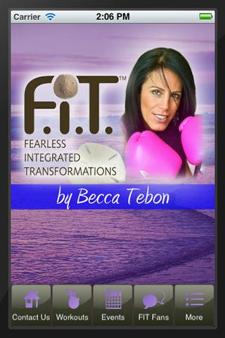 Becca Tebon F.I.T.ness- screenshot