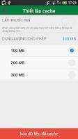 Screenshot of Dân Trí