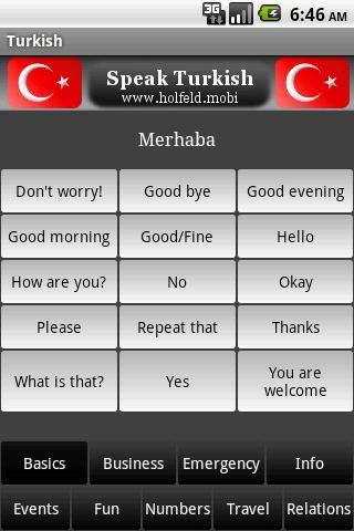 Speak Turkish - screenshot