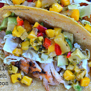Grilled Fish Tacos.