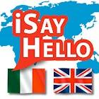 iSayHello Italian - English icon