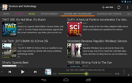 BeyondPod for Tablets - Legacy Screenshot 10