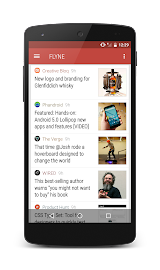 Flyne. The Offline Reader. Screenshot 6