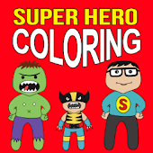 Super Hero Coloring - Fun Game