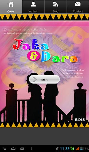 Novel Cinta Jaka dan Dara