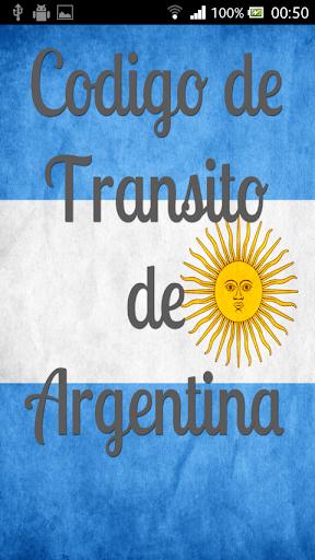 LEY DE TRANSITO ARGENTINA