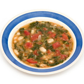 Spanish-style White Bean, Kale, and Chorizo Soup