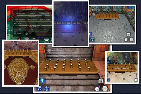 Ring Toss 3D Tap Touch Flick- screenshot
