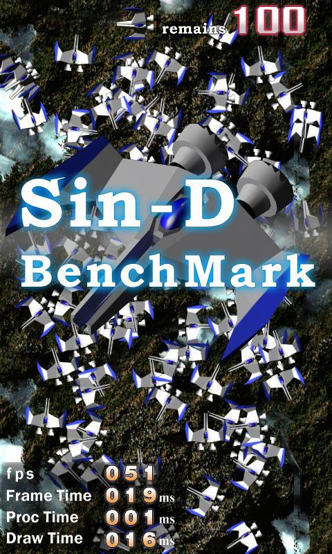 Sin-D BenchMark- screenshot