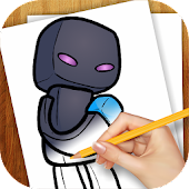 Learn to Draw Chibi Minecraft