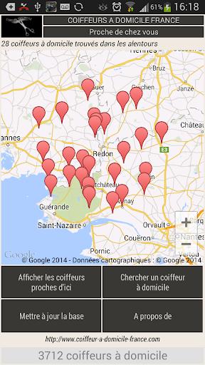 Coiffeur a domicile de France